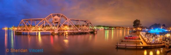 Hojack Bridge and Pelican Nest Restaurant by Sheridan Vincent