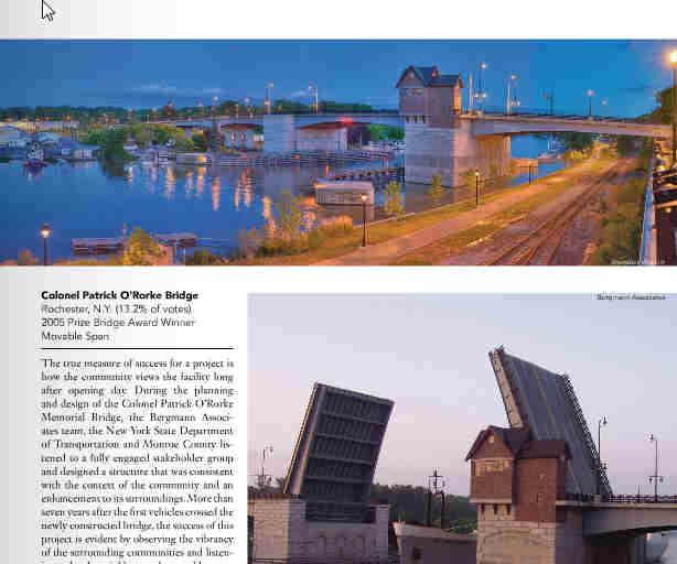 O'Rorke Bridge Award