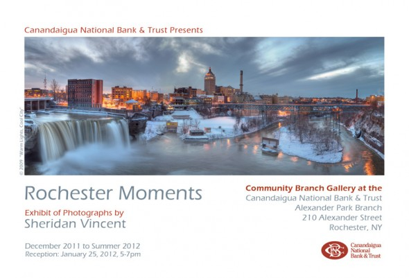 Show Card Rochester Moments at Canandaigua National Bank & Trust