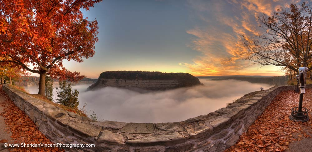 Letchworth State Park Sunrise 2