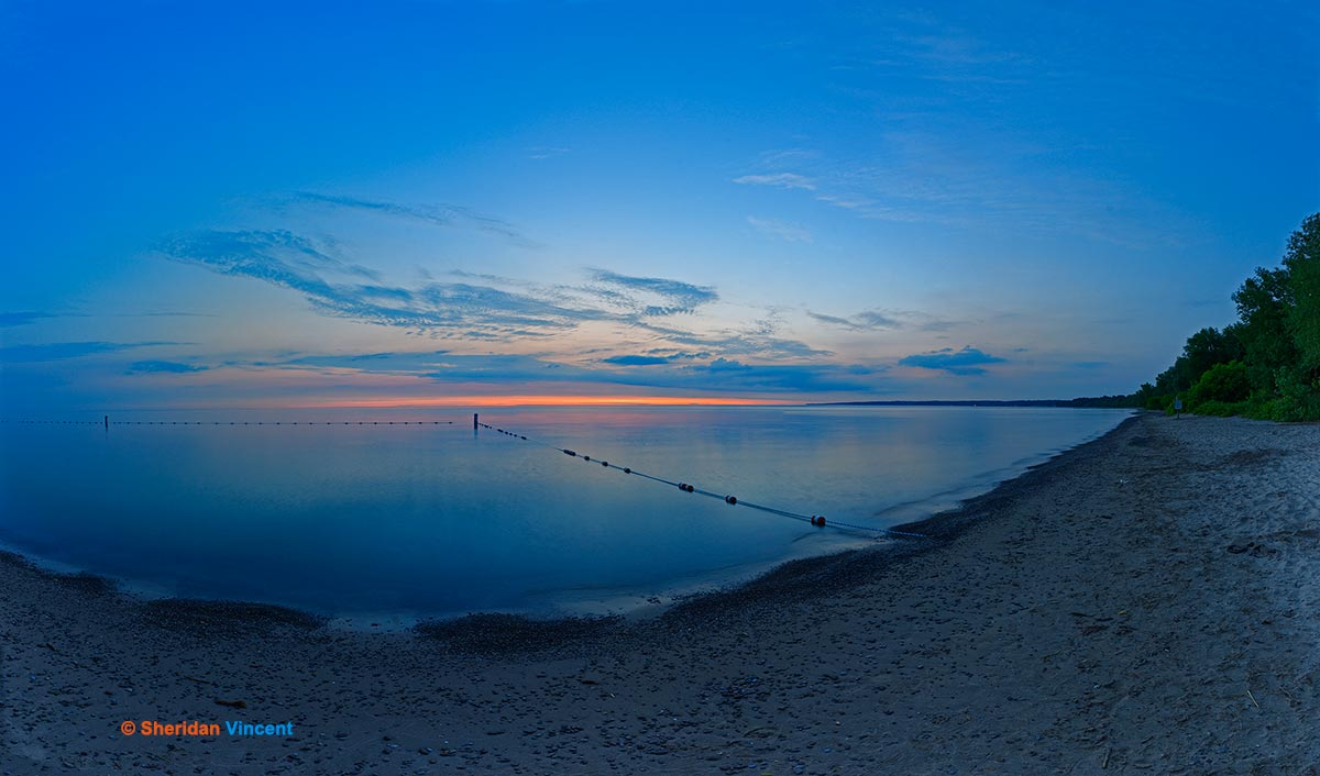 Durand Beach Predawn by Sheridan Vincent