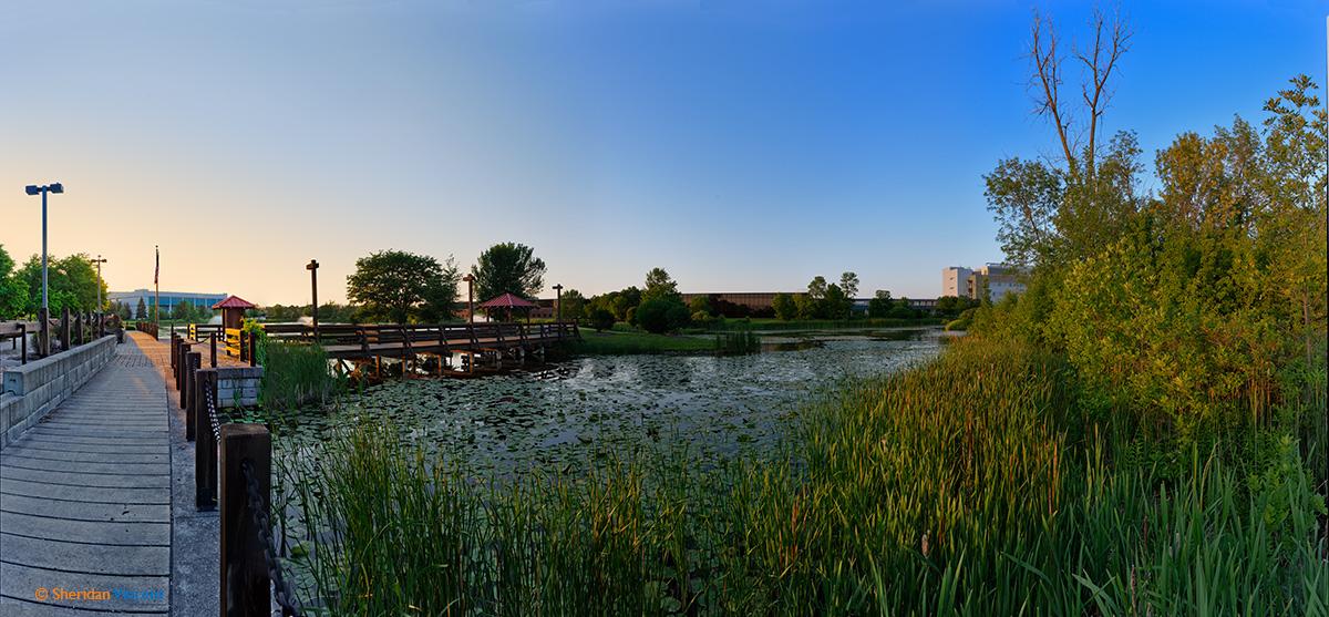 Greece canal park