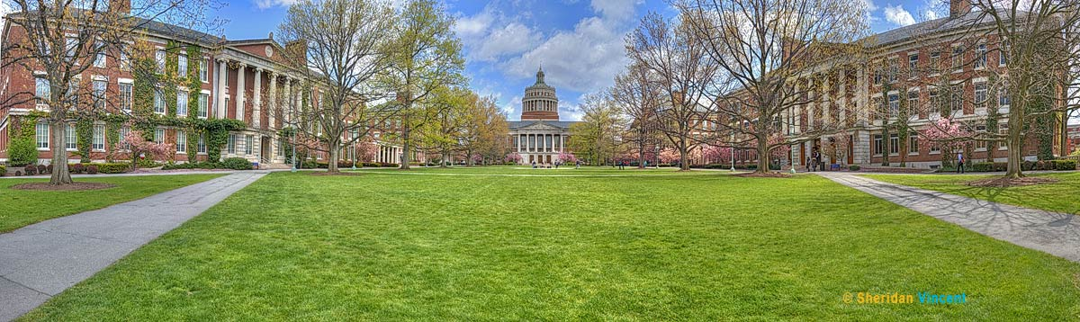 Eastman Quad University of Rochester Spring by Vincent