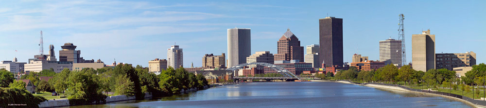 Rochester Skyline by Sheridan Vincent